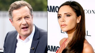 Piers Morgan Slams David and Victoria Beckham for 'Shameless' Video of Son Cruz Singing