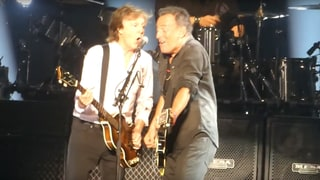 See Paul McCartney, Bruce Springsteen Play 'I Saw Her Standing There' at MSG