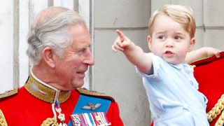 "Prince Charles Says Grandson Prince George ""Likes to Be Outside"""