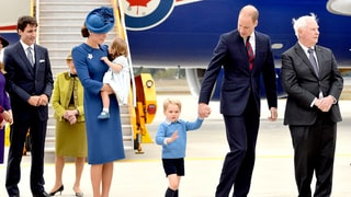 Prince George Rejects Prime Minister Justin Trudeau's High-Five During Royals' Canada Tour