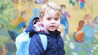 Prince George Starts at Nursery School: See His Sweet First Day Photos!