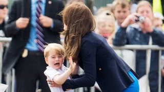 Prince George Threw Tantrum Before Cute Appearance at the Royal Air Show