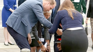 Prince William Rushes to Help Elderly Lord After a Scary Fall