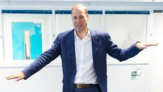 Prince William Does the Wave, Admits He Looks 'Ridiculous'
