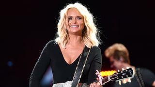 Miranda Lambert Pairs Metallic Miniskirt With Satin Cowboy Boots: Love It or Hate It?