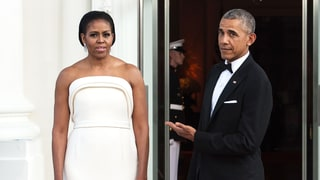 Michelle Obama Wears Lady Gaga's Favorite Designer for White House State Dinner