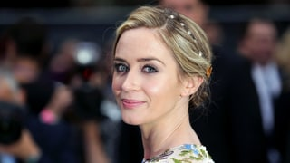 Emily Blunt's Embellished Updo Is Even Dreamier From Behind