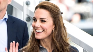 Duchess Kate Wears Three Hairstyles in One Day