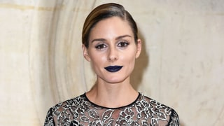 How to Rock Navy Blue Lipstick Like Olivia Palermo