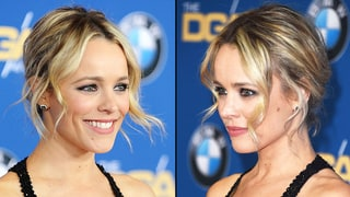 Rachel McAdams' Tendril-Accented Updo