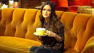 Rachel Bilson Shares an Adorable Pic of Herself on the 'Friends' Central Perk Set