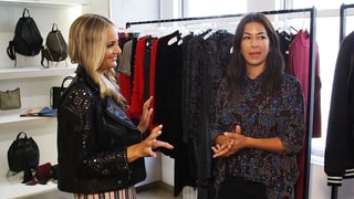 Rebecca Minkoff Takes Us Inside Her Showroom
