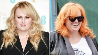 Rebel Wilson Hops on the Rainbow Hair Trend, Goes Bright Orange