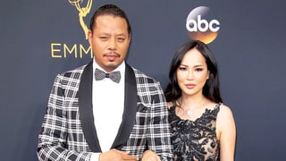 Terrence Howard's Wife Says He Brings His 'A--hole' 'Empire' Character Home on Emmys 2016 Red Carpet
