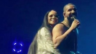 Drake and Rihanna Have Lovefest on Stage at L.A. Concert