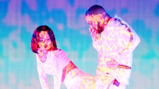 Rihanna and Drake Look Like They're Practically Having Sex During Brit Awards Performance