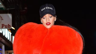 Rihanna Wore a Heart-Shaped Coat in NYC Because Love Is Real