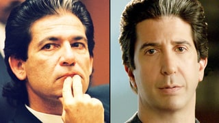 Robert Kardashian and David Schwimmer