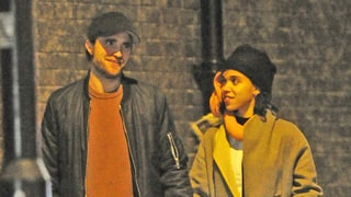 Robert Pattinson and FKA Twigs Hold Hands on Dinner Date