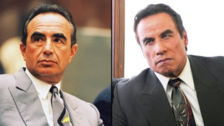 Robert Shapiro and John Travolta