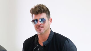 Robin Thicke Spends Time With Son Julian Amid Nasty Custody Battle With Ex Paula Patton