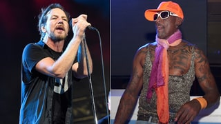 Watch Dennis Rodman Cradle Eddie Vedder During Chicago Show