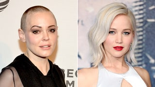 Rose McGowan Slams 'X-Men: Apocalypse' Billboard That Shows Jennifer Lawrence Being Choked