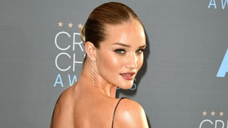Rosie Huntington-Whiteley Embraces Her Tan Lines in Open-Backed Dress on the Red Carpet