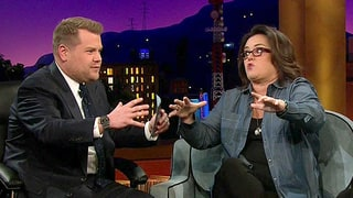 James Corden and Rosie O'Donnell Rapped Hamilton's 'Alexander Hamilton' and It Was Wonderful: Watch!