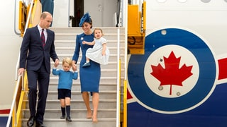 Prince William, Duchess Kate, Prince George and Princess Charlotte Arrive in Canada for Royal Tour: Pics