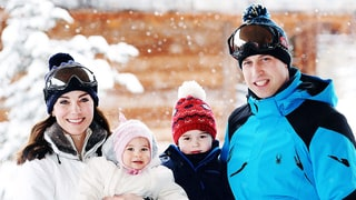 Kate Middleton, Prince William, Prince George and Princess Charlotte Pose in the Alps: All the Details on Their Ski Style!