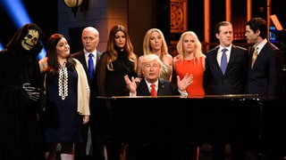 How 'Saturday Night Live' Turned Our Trump Nightmare Into Comic Gold