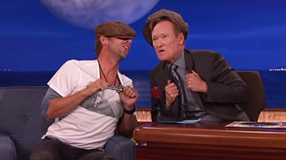 Watch Chris Martin, Conan Sing Coldplay's 'Yellow' in Cockney Accents