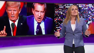 See Samantha Bee Pan Trump, Giuliani in RNC Recap