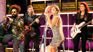 Watch Lady Gaga Deliver Monologue, Join House Band on 'Corden'