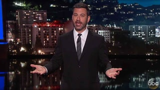 See Jimmy Kimmel Test Pedestrians on Imaginary Presidential Debate