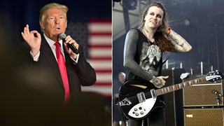 Laura Jane Grace on Donald Trump's Transgender Action: 'F--k Off'