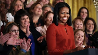 Watch Michelle Obama's Tearful Final Speech as First Lady