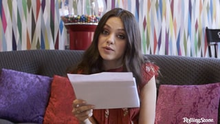Watch Mila Kunis Give WTF Motherly Advice in Exclusive Rolling Stone Video
