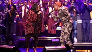 Watch Pharrell, Kim Burrell Perform Spirited 'I See a Victory'
