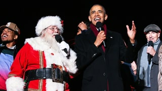 Watch President Obama, Chance the Rapper, James Taylor Sing 'Jingle Bells'