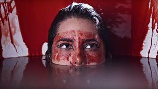 See Pussy Riot's Nadya Take Literal Blood Bath in 'Organs' Video