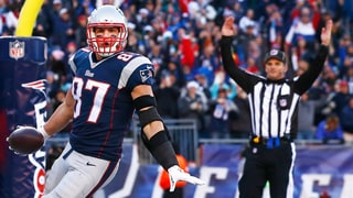 See Rob Gronkowski's Hilarious Reaction to 69th Touchdown