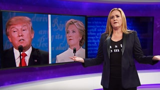 Watch Samantha Bee Rip Trump's Third Debate Performance