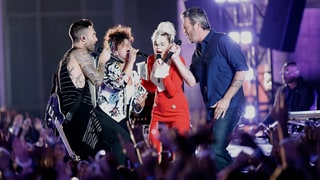 See Adam Levine, Blake Shelton, Miley Cyrus Sing Aerosmith's 'Dream On'