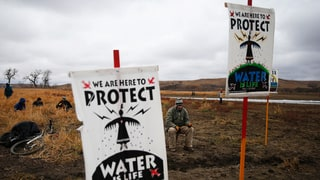 Facing Police Violence, Standing Rock Protesters Hold Moving Thanksgiving Action