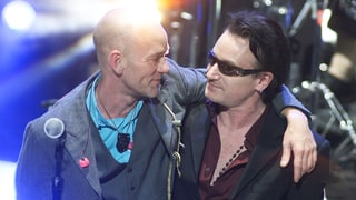 Flashback: U2 and REM Join Forces for Bill Clinton Inauguration