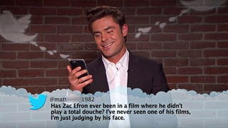 See Zac Efron, Melissa McCarthy Read Mean Tweets on 'Jimmy Kimmel'