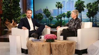 Ryan Gosling Talks Second Baby Amada, Teases Baby Picture on 'Ellen'