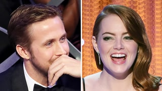 Ryan Gosling Had the Best Reaction to Emma Stone's SAG Awards 2017 Acceptance Speech